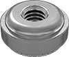 Stainless Steel Aligning Press-Fit Nuts for Sheet Metal