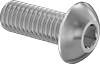 Titanium Button Head Hex Drive Screws
