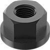 Low-Strength Steel Flange Nuts