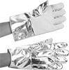 Heat-Reflective Aluminized Gloves