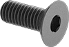 Metric Alloy Steel Hex Drive Flat Head Screws