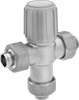 Temperature-Regulating Valves with Solder-Connect Fittings for Water
