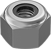18-8 Stainless Steel Nylon-Insert Locknuts