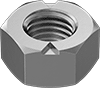 Low-Strength Steel Top-Lock Distorted-Thread Locknuts