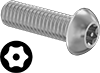 Stainless Steel Tamper-Resistant Button Head Torx Screws