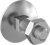 Stainless Steel Square-Neck Elevator Bolts