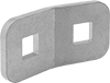 Corner Brackets for Conveyor Guide Clamps