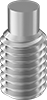 Metric 18-8 Stainless Steel Extended-Tip Set Screws