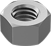 High-Strength 17-4 PH Stainless Steel Hex Nuts