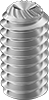 Stainless Steel Knurl-Grip Cup-Point Set Screws