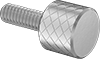 Stainless Steel High-Profile Knurled-Head Thumb Screws
