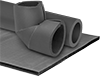 Flexible Rubber Foam Pipe Insulation