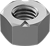 Metric Medium-Strength Steel Top-Lock Distorted-Thread Locknuts—Class 8