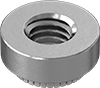Metric Stainless Steel Press-Fit Nuts for Soft Metal and Plastic