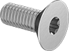 Metric High-Strength A286 Stainless Steel Torx Flat Head Screws