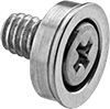 Flush-Mount Press-Fit Captive Panel Screws