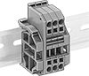 Quick and Secure Modular DIN-Rail Mount Terminal Blocks