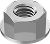 Super-Corrosion-Resistant 316 Stainless Steel Flange Nuts