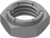 Steel Thin Flex-Top Locknuts for Heavy Vibration