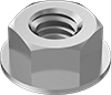 Medium-Strength Steel Flange Nuts