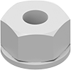 Thread-Forming Flange Locknuts