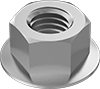 Metric High-Strength Steel Flange Nuts—Class 10