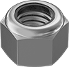 Medium-Strength Steel Nylon-Insert Locknuts—Grade 5