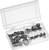 Metal Snap-In Panel Plug Assortments