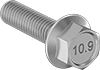 JIS High-Strength Steel Flanged Hex Head Screws