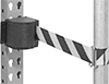 Rack-Mount Retractable Belt Barriers