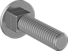 High-Strength Grade 8 Steel Square-Neck Carriage Bolts