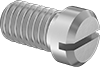 18-8 Stainless Steel Narrow Cheese Head Slotted Screws