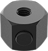 Hex Push-Button Slide-Adjust Nuts