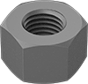 Metric Extreme-Strength Steel Extra-Wide Hex Nuts—Grade 2H
