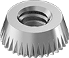 Tamper-Resistant Serrated-Edge Locknuts