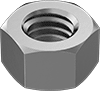 Seize-Resistant High-Strength 410 Stainless Steel Hex Nuts
