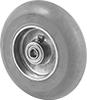 Easy-Turn Rubber Wheels