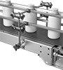 Material Guiding Hardware for Conveyors