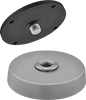 Encased Magnets with Mounting Plate