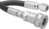 Hydraulic Hose with Quick-Disconnect Socket and Female Threaded Fitting