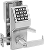 Battery-Powered Keypad Combination Door Handles