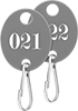 Sequentially Numbered Key Tags