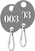 Identically Numbered Key Tags