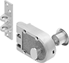 Pry-Resistant Turnpiece- and Key-Locking Deadbolt Door Locks