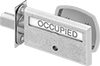 Occupied/Vacant Deadbolt Door Locks