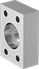 High-Pressure Stainless Steel Unthreaded SAE Pipe Flanges