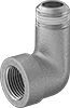 Low-Pressure Stainless Steel Threaded Pipe Fittings with Sealant