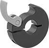 Quick-Release Clamping Shaft Collars