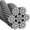 Corrosion-Resistant Wire Rope—For Lifting