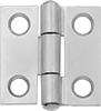 Mortise-Mount Hinges with Holes